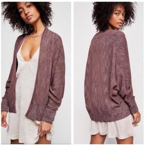 Free People Motions Slouchy Cardigan